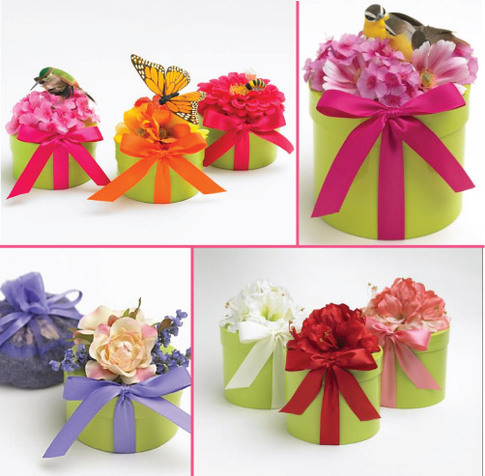 Wedding kits are less time consuming than creating your own favors from
